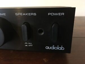 Audiolab 8000A Integrated Amplifier w/ Superb Phono Stage. No Reserve!
