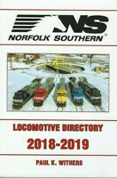 NORFOLK SOUTHERN 2018-2019 Locomotive Directory -- (LAST NEW BOOK)