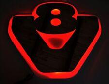 24V Red LED Interior Light Plate for all Scania Trucks V8 Illuminating Sign