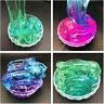 Klare Crystal Slime Clay Schlamm Fluffy Floam duftenden Stressabbau Spielzeug