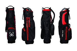 STADRY 100% Waterproof Golf StandBag Ultralightweight - B/R