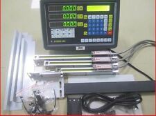3 AXIS DIGITAL DISPLAY READOUT DRO AND 3 LINEAR SCALE FOR MILL LATHE MACHINE 2