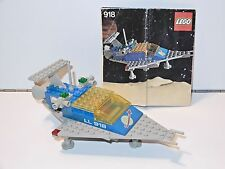 LEGO SPACE No 918 ONE MAN SPACE TRANSPORT 100% COMPLETE + INSTRUCTIONS - 1980s