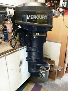 Mercury 25hp 2 Stroke Short Shaft Outboard + Remotes and more!