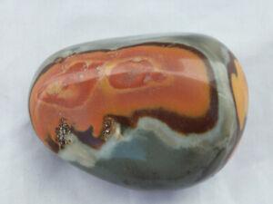 Trommelstein Handschmeichler Polychrom Jaspis 116 g (018)