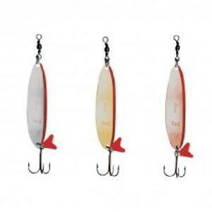 D.A.M Effzett Slim Standard Spoon | Salmon Trout Pike Zander Spoon | 8g - 32g