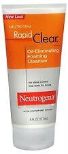Neutrogena Rapid Clear Oil-Eliminating Foaming Cleanser 6 oz