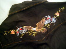 Harley Davidson Embroidered Long Sleeved Women's Shirt  Med NWT!!!