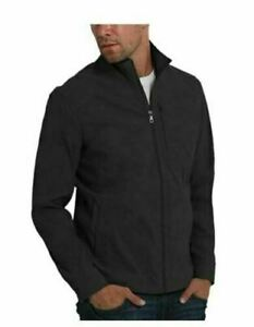 NEW! Orvis Men's Lightweight Water Resistant Nylon Jacket Black LARGE