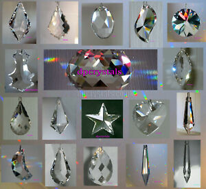 Rainbow Prism Hanging Mobile Crystal Suncatcher Feng Shui Chandelier SALE