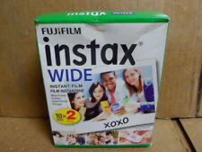 2020 Fuji Instax 210 / 300 Instant Wide Color Print Film twin pk 20shots