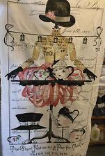 "Tidings of Great Joy fabric Panel by J Wecker-Frisch, 23"" x 44"""