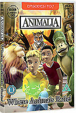 Animalia: Where Animals Rule! Dvd Brand New & Factory Sealed