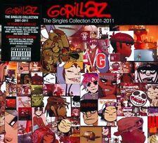 GORILLAZ - THE SINGLES COLLECTION 2001-2011 [CD/DVD] [PA] [DIGIPAK] (NEW CD)