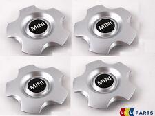 MINI Nuovo Originale R16 hub cap con logo MINI Argento per R102 RUOTA 4 PZ Set