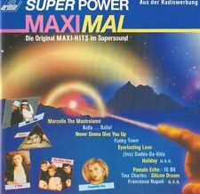 Super Power MaxiMal (1987, Maxis) Sandra, Rick Astley, 16 Bit, Pseudo Ech.. [CD]