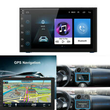 """Android 7"""" 2 Din Car Stereo Radio Multimedia Player GPS Navigation USB Charger"""