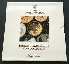 1989 United Kingdom Coin Mint Set Royal Mint Great Britain UK