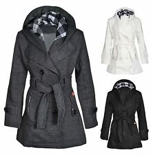 Unbranded Women's Knee Length Casual Button Coats & Jackets