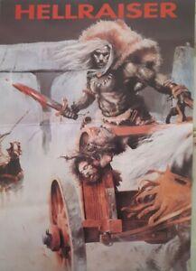 Hellraiser july/august 1992 @ hellraiser skegness rave flyer