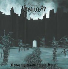 Graven - Reborn Misanthropic Spirit CD Black Metal NEW