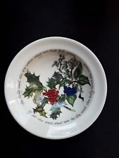 "Portmeirion X 1.The Holly and The Ivy Oatmeal Bowls dia 6""3/4  UNUSED ITEMS"