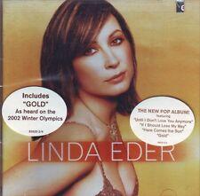 LINDA EDER Gold  CD ss 2002 Atlantic Winter Olympics