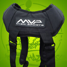 NEW Weight Distributing Black MVP BACKPACK STRAPS for your Disc Golf Bag FAST