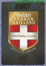 495 ECUSSON BADGE LOGO # EVIAN THONON GAILLARD.FC ETG STICKER PANINI FOOT 2016