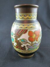 Rembrandt Holland Gouda Style Pottery Hand Painted Vase c.1920s