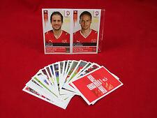Panini Euro 2008 P1 - P20 Extra Sticker Schweiz + Update Müller / Cabanas EM 08
