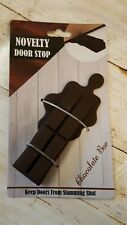 Novelty door stop chocolate bar shaped new home decoration  (a1)