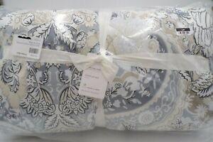 Pottery Barn Celeste Neutral King Cal King Comforter Traditional Multi #311B