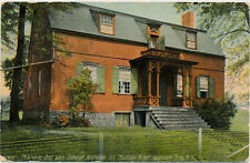 TROY NY – Historic Old Van Schaick Mansion on Hudson River Opposite Troy - 1910