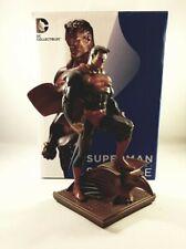 New ListingDc Direct Jim Lee Superman Mini-Statue Patina Dc Comics Cold Cast Porcelain