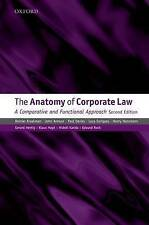 The Anatomy of Corporate Law: A Comparative and Functional Approach (A-ExLibrary