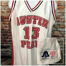 Austin Peay Governors Basketball Jersey #13 Sports Belle Inc Vintage Large