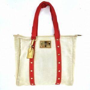 Louis Vuitton Tote bag Antigua M40038 Handbag From Japan #DP41-193