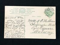 Postal History Ireland, Postcard Postmark for Curragh Military Camp, Co. Kildare