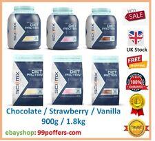 Sci-Mx Nutrition Diet Protéine Poudre 900 g 1.8 kg Vanille Chocolat Fraise