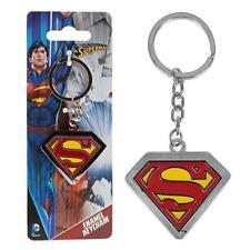 Metal E Esmaltado Dc Comics Llavero/Llavero - Superman