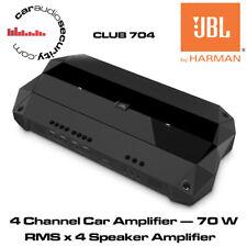 JBL Club 704 - 4 CANALI AMPLIFICATORE AUTO - 70 WATT RMS X 4 amplificatore altoparlante