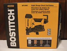 "Stanley Bostitch SF150C 1-1/2"" 15-Degree Light Gauge Steel Coil Nailer"