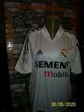 Vintage Real Madrid adidas football soccer jersey shirt trikot maillot '90