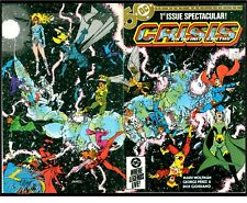 CRISIS ON INFINITE EARTHS #1(4/85)1:BLUE BEETLE(BATMAN/SUPERMAN)CGC IT(NM+)9.6!!
