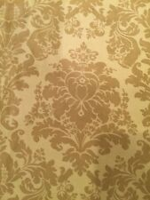 Beautiful Light-Green Velvet Damask Home Decor Fabric Sold By The Yard