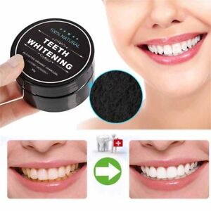 Activated Charcoal Teeth Whitening Powder Compare as Miracle White