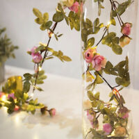 "20 LED Flower String Lights Fairy Lamp Wedding Party Christmas Bedroom Decor 86"""