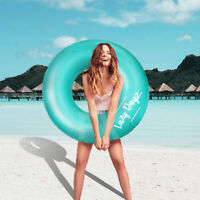 Inflatable Swim Ring Summer Pool Round Float Toy Fun Sports Adult Spa Raft Water