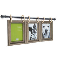 Industrial Pipe 5 x 7 Picture Frame Collage Primitive Rustic Wall Decor NEW